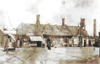 The Original Eccles Station Building